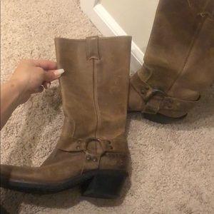 BCBG cowboy boots size 6